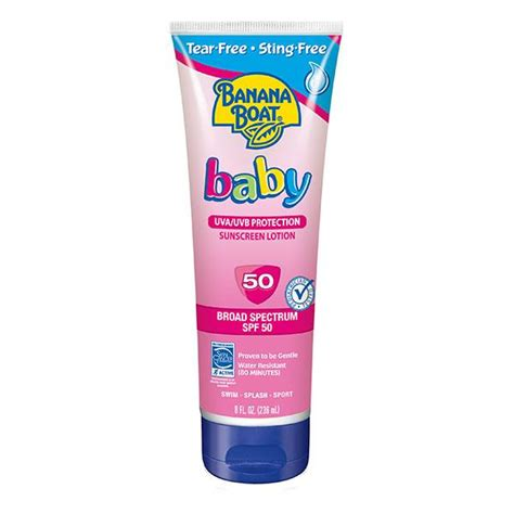 banana boat baby sunscreen banana boat baby sunscreen tear free sting
