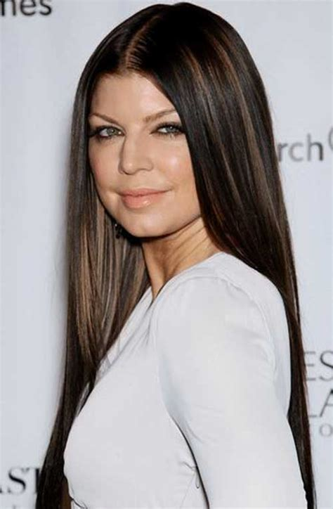 black hair with chocolate brown highlights 20 haircuts for fine straight hair hairstyles haircuts