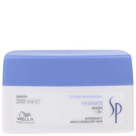 Wella Sp Hydrate Shoo 1208 by Wella Sp Hydrate Mask 200ml Free Shipping Lookfantastic