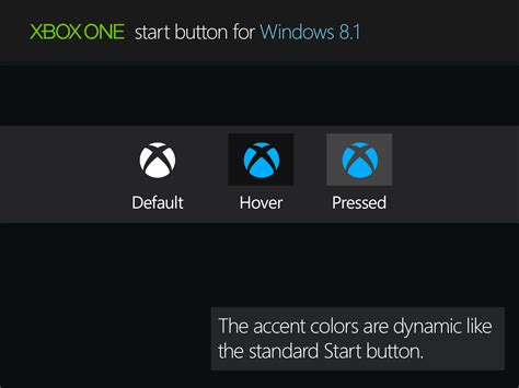 themes for windows 8 1 start menu xbox one start button for windows 8 1 by rexadde on deviantart