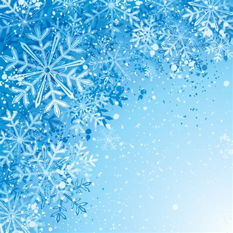 free snowflake background pattern winter snowflake backgrounds art design vector 05 vector