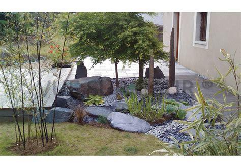 deco cour exterieur decoration de jardin japonais
