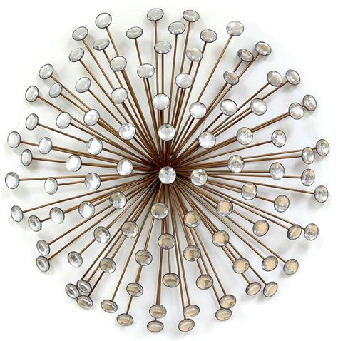 bronze metal wall decor stratton home decor bronze acrylic burst midcentury