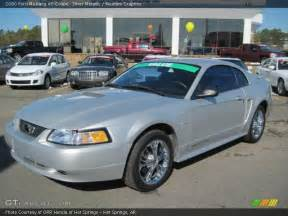 2000 Ford Mustang V6 Horsepower 2000 Ford Mustang V6 Coupe In Silver Metallic Photo No