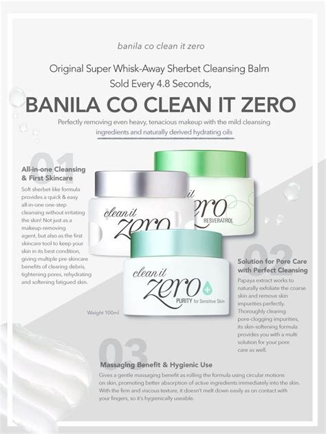 Clean It Zero Banila Co 100ml banila co clean it zero radiance 100ml q depot