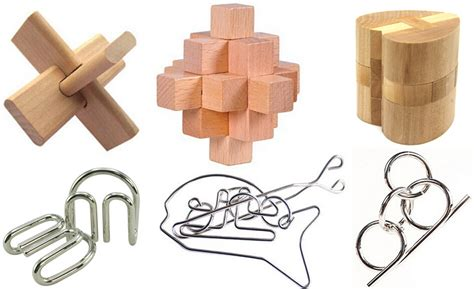 metal wooden puzzles brain teasers games for kids 6pcs lot iq brain teaser metal wire puzzle wooden burr