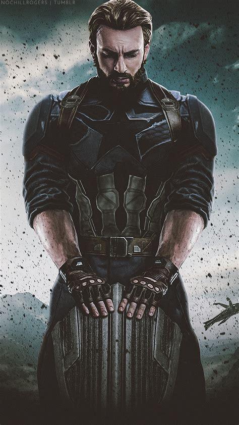 captain america infinity war captain america avengers infinity war iphone wallpaper