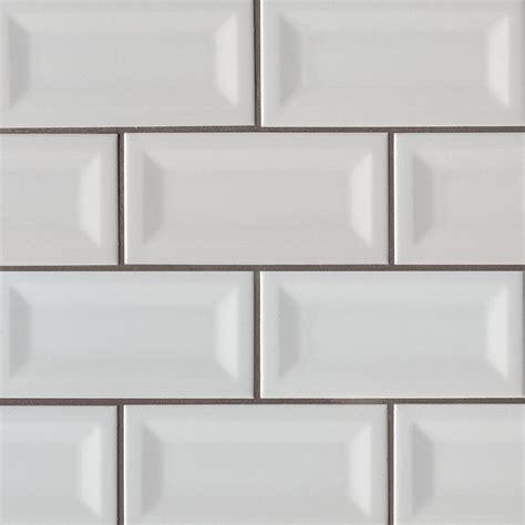 bevelled white gloss subway tile 75x150mm subway tiles gray glossy 3x6 inverted beveled ceramic tile