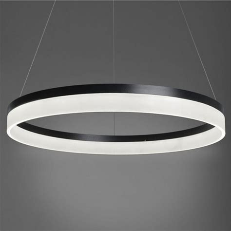 Modern Led Light Fixtures 2015 New Modern Led Ring Light Arcylic Circle Led Pendant Suspension Light Fixture Md5060 Led In