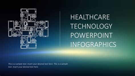 Healthcare Technology Powerpoint Infographics Healthcare Powerpoint Template