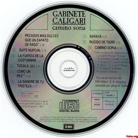 gabinete caligari camino soria camino soria gabinete caligari mp3 buy tracklist
