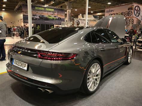 Auto Tuning In Essen by Racechip Mclaren 570s Und Porsche Panamera Tuning Essen