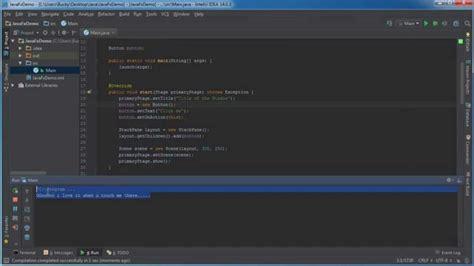 tutorial netbeans gui javafx java gui tutorial 2 handle user events youtube