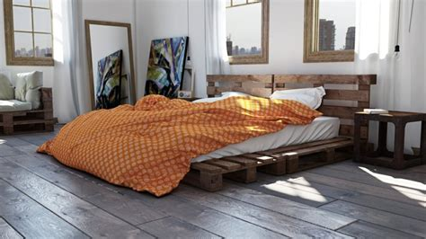 bett ideen diy wonderful pallet bed ideas on a budget