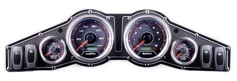 Panel Speedometer Custom Kijang 1 products custom populated panels new vintage usa inc