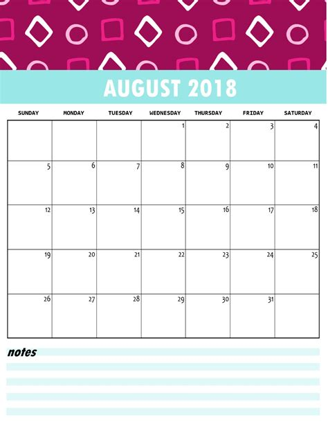 printable calendar by month 2018 imovil co
