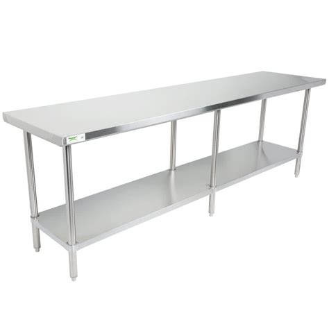 regency 30 quot x 96 quot 16 304 stainless steel commercial