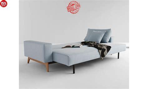 double bed sleeper sofa living idun sleek sofa bed