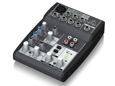 Behringer Xenyx Q502usb Premium 5 Input 2 Mixer Berkualitas behringer xenyx 502 premium 5 input 2 mixer with xenyx mic pre and eq