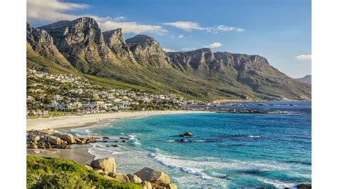 beach views 4k cape town south africa wallpaper free 4k