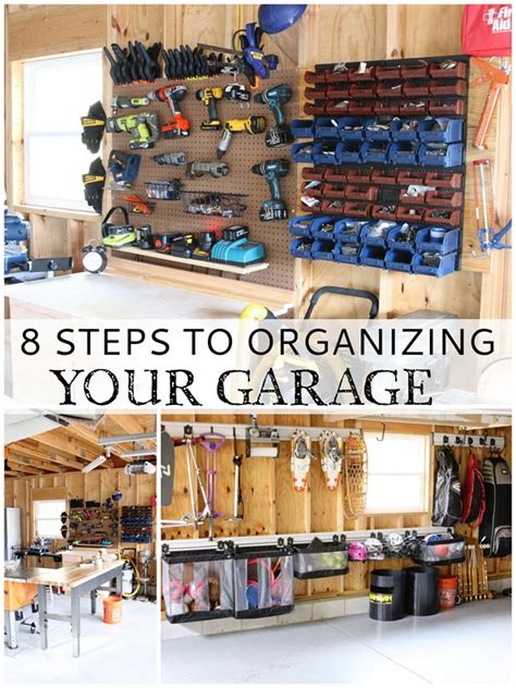 organize my garage tips