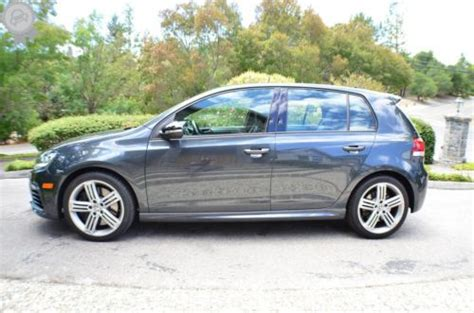 2013 volkswagen golf r with sunroof and navigation purchase used 2013 volkswagen golf r 4dr hatchback awd w