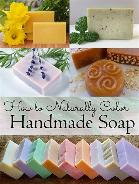 Handmade Soap Ingredients - a list of ingredients including flowers herbs
