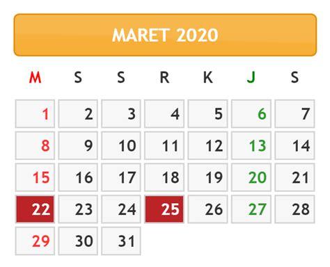 kalender bulan maret   kalender