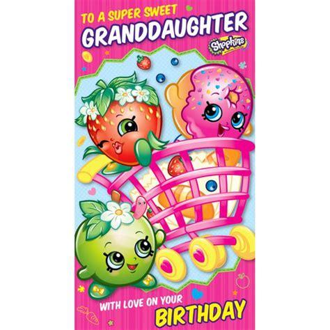 printable birthday cards shopkins shopkins birthday cards ebay