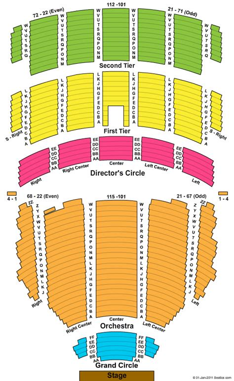 abraham chavez theatre seating chart 2017 2018 tickets benedum center seating chart