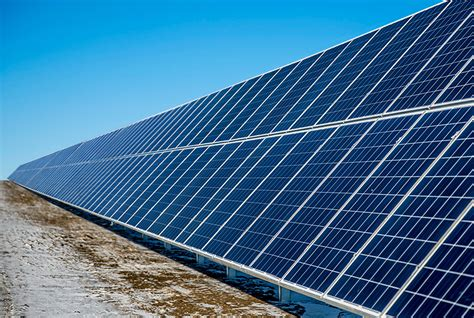 individual solar panels grace energy 2 mw solar panel installation