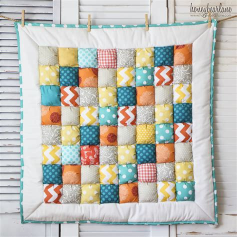 Puff Quilts new puff quilts and an announcement honeybear