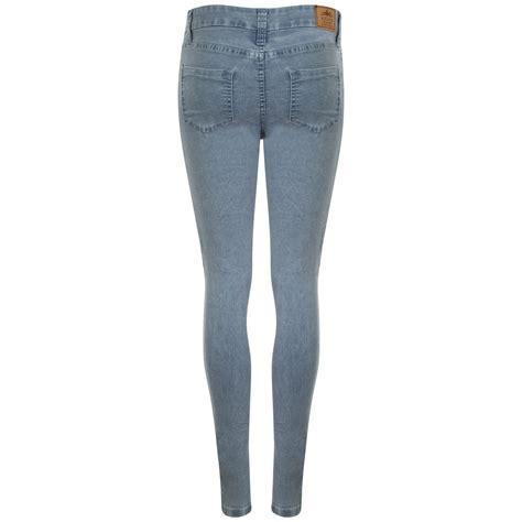 girls skinny jeans kollache new ladies womens skinny slim fit denim jeans
