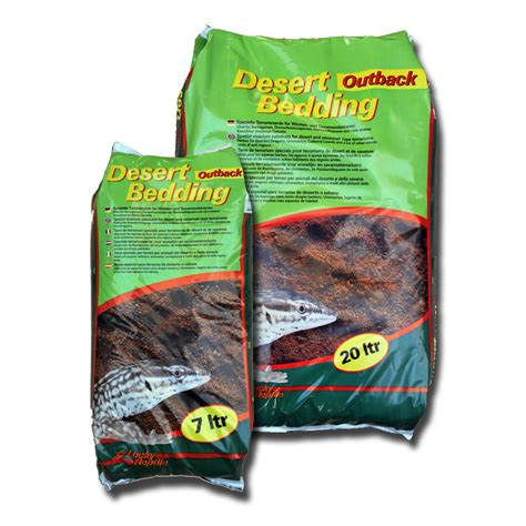 reptile bedding lucky reptile desert bedding outback red 20l dbo 20