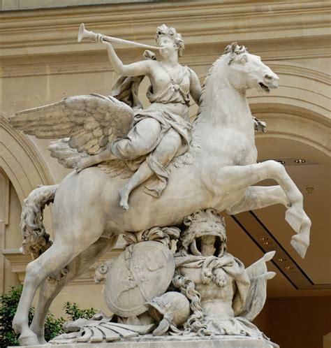 imagenes de esculturas historicas file fame riding pegasus coysevox louvre mr1824 jpg