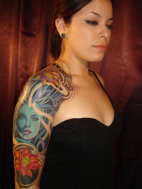 arm sleeve tattoos for females explanation about sleeve tattoos for