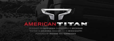 where is nissan titan made is the nissan titan made in america