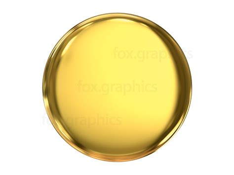 Gold Button by Gold Button Png Fox Graphics