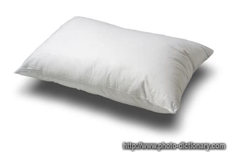 pillow photo picture definition at photo dictionary
