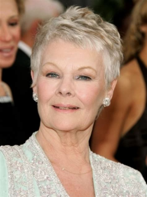 hairstyle for a 76 year old woman judi dench hairstyles 2013 hairstyles pinterest judi