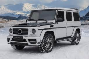 mansory tunes the mercedes g class wagon car tuning