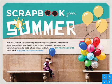 Luv2scrapbook Scrapbook Layout Contest by Summer Scrapbooking Ideas Plus A Contest