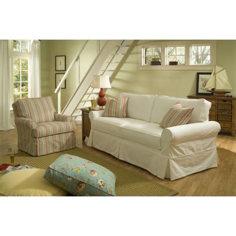 beauty couch covers furniture modern love seat sofa with cream fabric slip