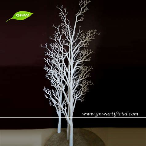artificial decorative trees for the home gnw wtr020 decorative white artificial tree branches for home wedding decoration view