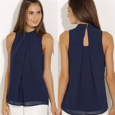 summer blouse aliexpress buy feitong summer chiffon blouse