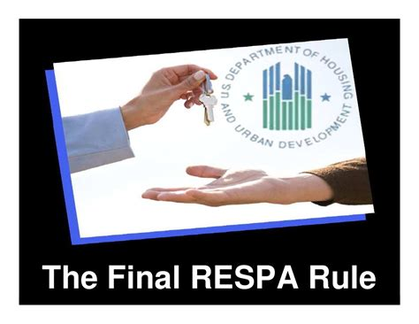 respa section 10 the final respa rule