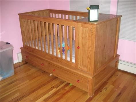 Made Cribs by Made Baby S Crib By Cross Cut Construction Custom