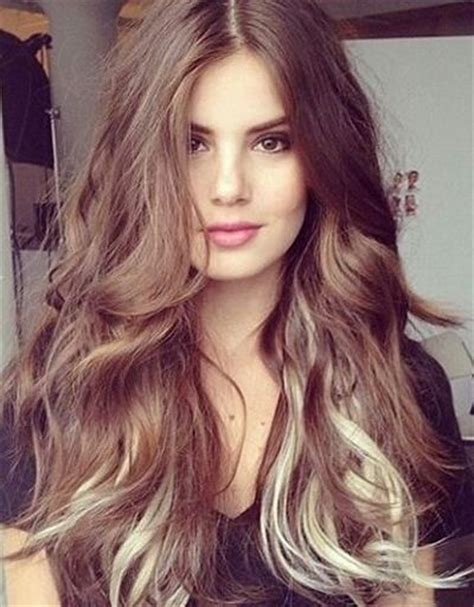 With Brown Hair