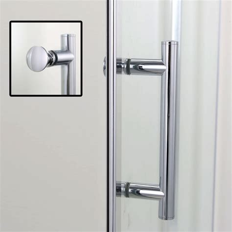 Shower Door Hinged 900x1850mm Frameless Pivot Shower Doors Hinge Screen Glass Enclosures Cubicle Ebay