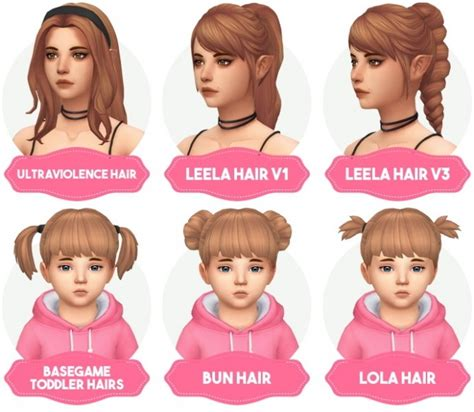 match hairstyles games clay hair recolors updated at aveira sims 4 187 sims 4 updates